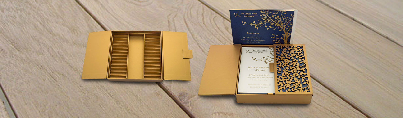 Customised Wedding Invitation